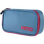 Nitro Snowboards Pencil Case Federmäppchen blau