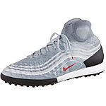 Nike MAGISTAX PROXIMO II TF Fußballschuhe Herren grau/rot