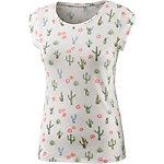 Only Chloe T-Shirt Damen ecru/allover