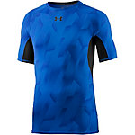 Under Armour HeatGear Armour Kompressionsshirt Herren blau