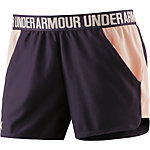Under Armour Play Up Funktionsshorts Damen lila/lachs