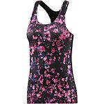 Nike Pro Dry Fit Funktionstank Damen pink/schwarz