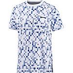 Bench T-Shirt Herren weiß/blau