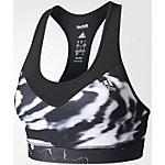 adidas Techfit Sport-BH Damen schwarz/grau