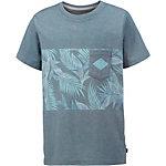 Quiksilver Printshirt Jungen denimblue