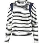 G-Star Sweatshirt Damen weiß/dunkelblau