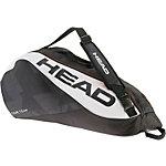 HEAD Tour Team 6R Combi Tennistasche schwarz/weiß