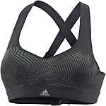 adidas CMMTTD X PR Sport-BH Damen schwarz