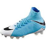 Nike HYPERVENOM PHATAL III FG Fußballschuhe Herren weiß/blau