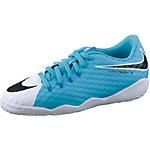 Nike JR HYPERVENOMX PHELON III IC Fußballschuhe Kinder weiß/schwarz