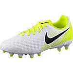 Nike JR MAGISTA OPUS II FG Fußballschuhe Kinder weiß/gelb