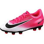 Nike JR MERCURIAL VORTEX III FG Fußballschuhe Kinder pink/weiß