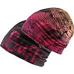 BUFF Coolmax Reversible Hat Beanie rosa/schwarz