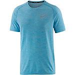 Nike Dri-Fit Knit Laufshirt Herren hellblau