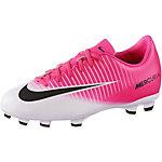 Nike JR MERCURIAL VICTORY VI FG Fußballschuhe Kinder pink/weiß