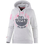 Superdry Sweatjacke Damen hellgrau