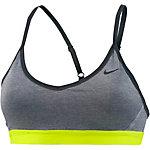 Nike Pro Indy Sport-BH Damen grau/neongelb