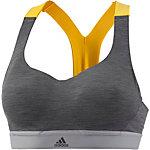 adidas CMMTTD Sport-BH Damen dark grey heather