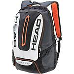 HEAD Tour Team Backpack Tennisrucksack schwarz/weiß