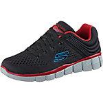 Skechers Sneaker Jungen schwarz-rot