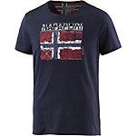 Napapijri Surl Printshirt Herren marine
