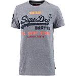 Superdry T-Shirt Herren hellblau