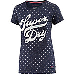 Superdry T-Shirt Damen dunkelblau