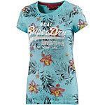 Superdry T-Shirt Damen türkis