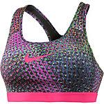 Nike Pro Classic Sport-BH Damen grau/pink