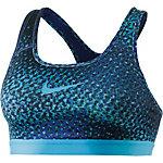 Nike Pro Classic Sport-BH Damen blau/türkis