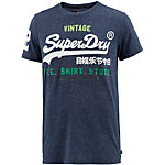 Superdry T-Shirt Herren dunkelblau