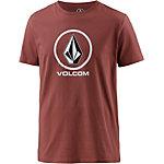 Volcom Circlestone T-Shirt Herren rot