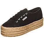 Superga 2790 Cotropew Sneaker Damen schwarz
