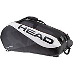 HEAD Tour Team 12R Monstercombi Tennistasche schwarz/weiß