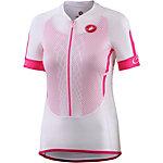 castelli Climbers W Fahrradtrikot Damen weiß/rosa