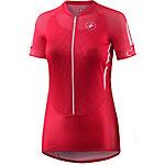 castelli Climbers W Fahrradtrikot Damen rot/weiß