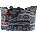Chiemsee Denim Strandtasche Damen blau/weiß