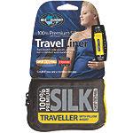 Sea to Summit Inlett Silk Stretch Traveller Inlett dunkelblau