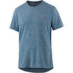 Nike Breathe Miler Laufshirt Herren hellblau/blau