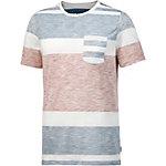 Jack & Jones T-Shirt Herren blau gestreift