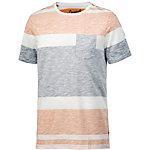 Jack & Jones T-Shirt Herren weiß gestreift