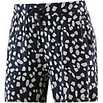 Ichi Shorts Damen navy/weiß