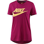 Nike Essential High Brand Read T-Shirt Damen fuchsia