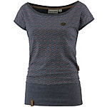 Naketano Schlummerndes Inferno II T-Shirt Damen dunkelblau/bunt
