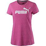PUMA Essential No. 1 Tee Printshirt Damen ROSE VIOLET