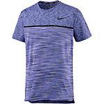 Nike Court Dry Challenger Tennisshirt Herren blau