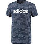adidas T-Shirt Jungen trace blue