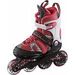 K2 Charm X Pro Fitness Skates Kinder rot/weiß