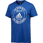 adidas Badge T-Shirt Herren collegiate royal
