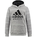 adidas Hoodie Jungen medium grey heather